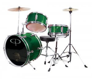 GP Percussion Deluxe GP50 Complete Junior Drum Set