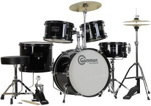 Gammon 5-Piece Junior Starter Drum Set