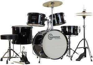Gammon 5-Piece Junior Starter Drum Set