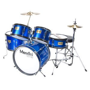 Mendini by Cecilio 16 inch 5-Piece Junior Drum Set