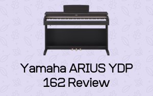 Yamaha ARIUS YDP 162 Review