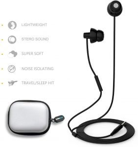 MAXROCK Soft Silicon Earbuds