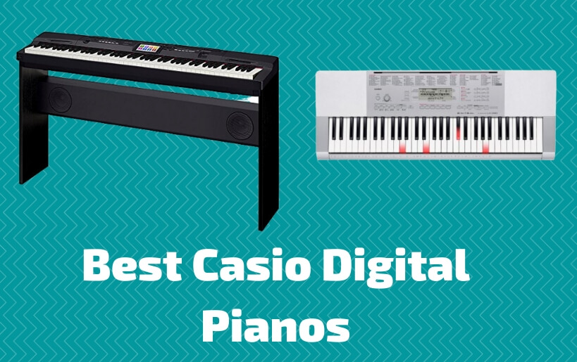 best casio digital pianos