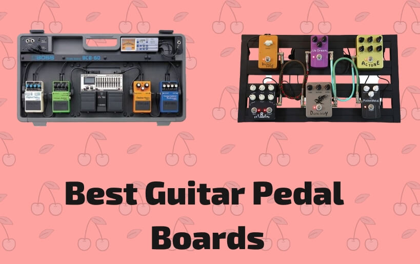best guitar pedalboards