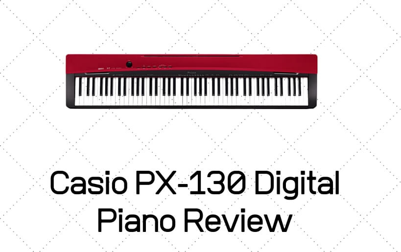 casio px-130 digital piano review