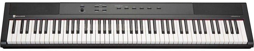 williams legato iii keys