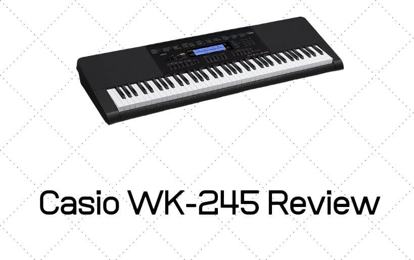 Casio WK-245 Review
