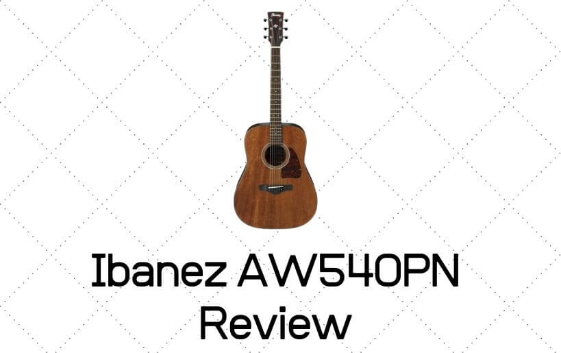 Ibanez AW54O Review
