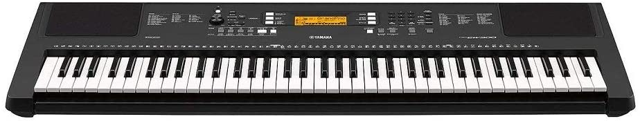 Yamaha PSR EW300 keys