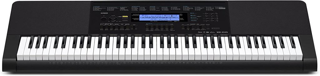 casio wk-245 keys