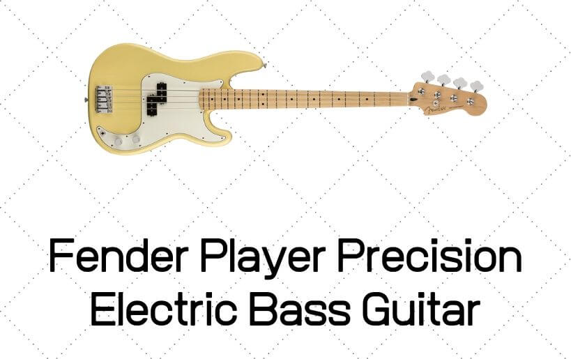 Fender Player Precision Electric Bass Guitar Review