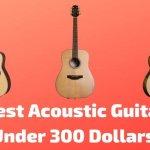 8 Best Acoustic Guitars Under 300 Dollars