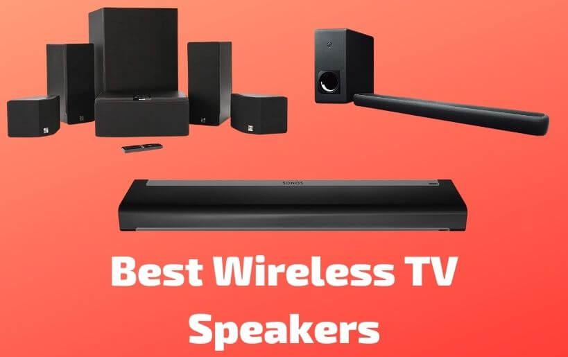 best wireless tv speakers