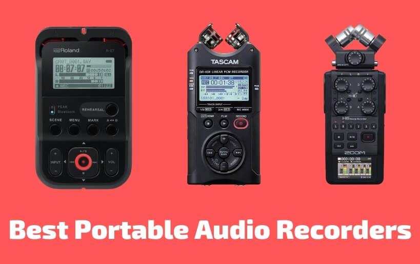 Best Portable Audio Recorders